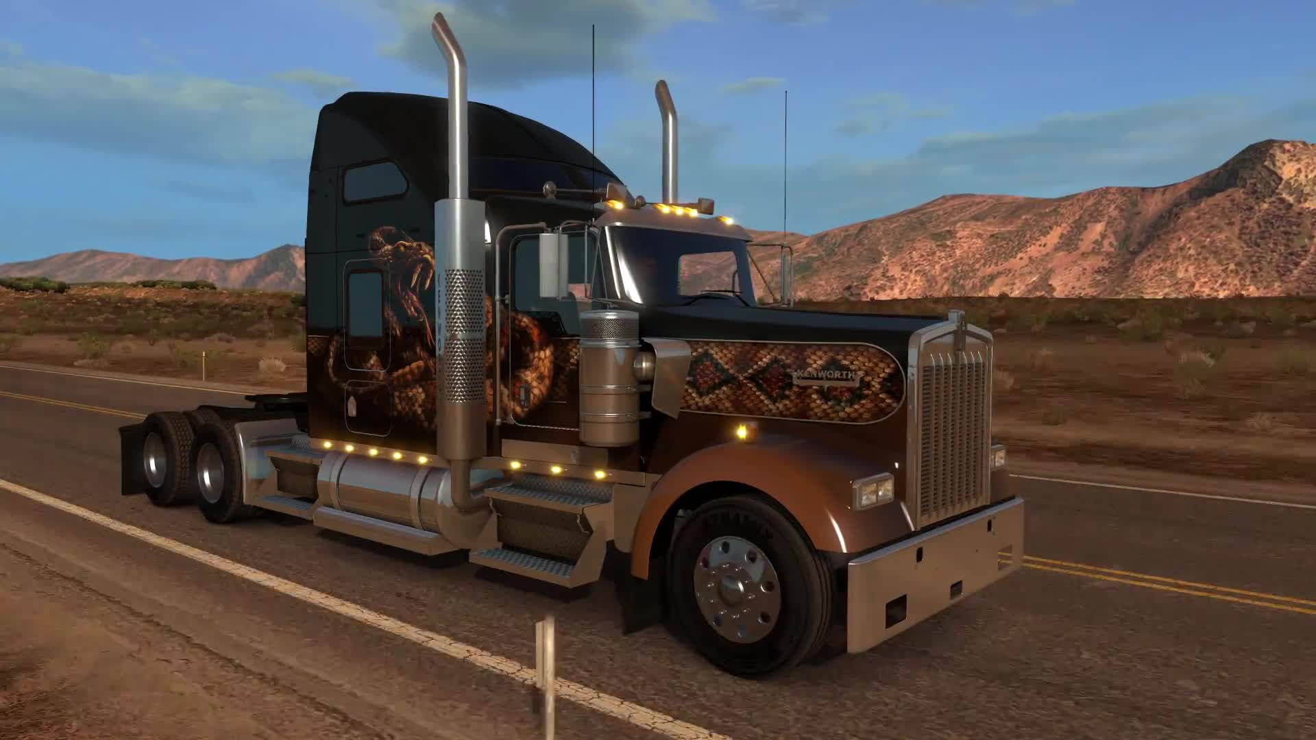 American Truck Simulator - Introducing W900