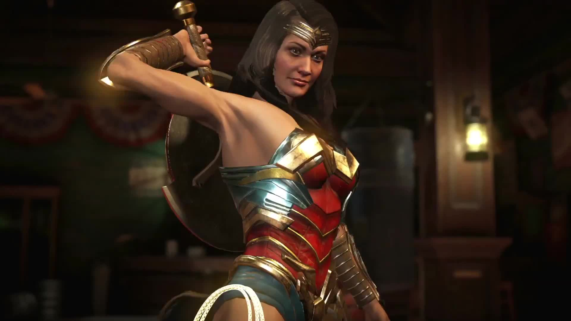 Injustice 2 – Wonder Woman and Blue Beetle Trailer