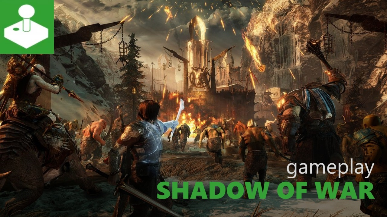 Shadow of War - 25 min. gameplay