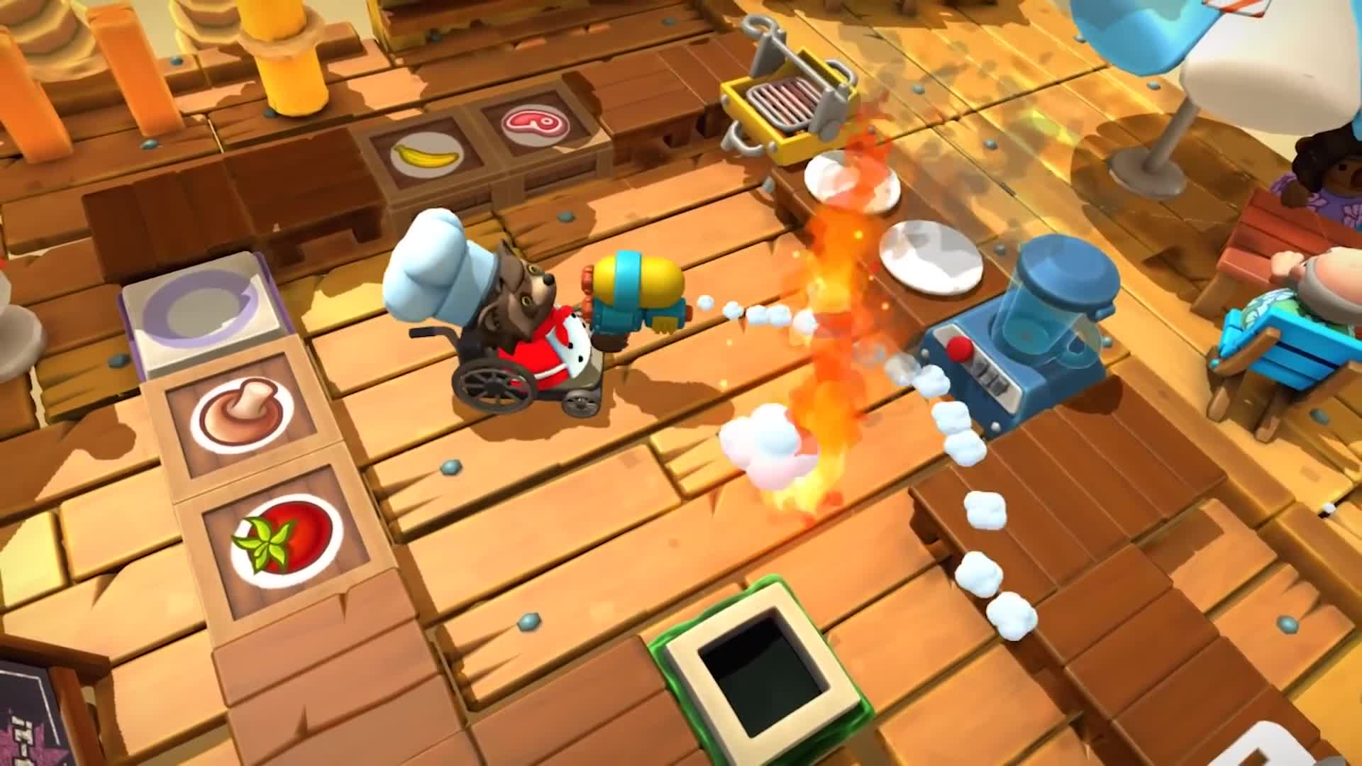 Overcooked! 2 - Surf 'n' Turf - Launch Trailer
