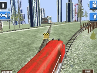 Train Simulator 3D - Simulation HTML game | Onlinegamesector com
