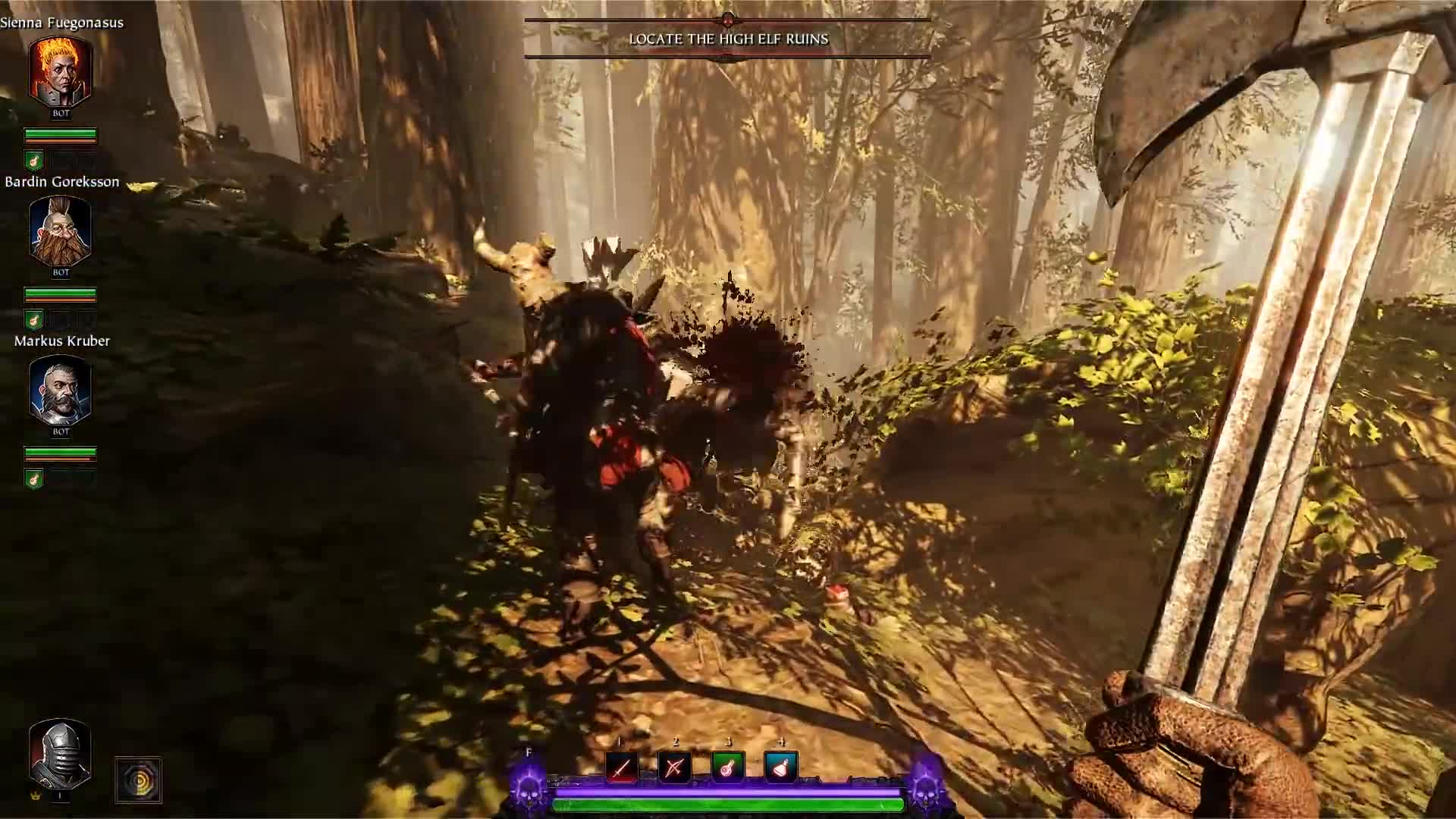 Warhammer: Vermintide 2 – The Tempest Gameplay featuring the Bounty Hunter
