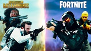 PUBG vs Fortnite - krátky film