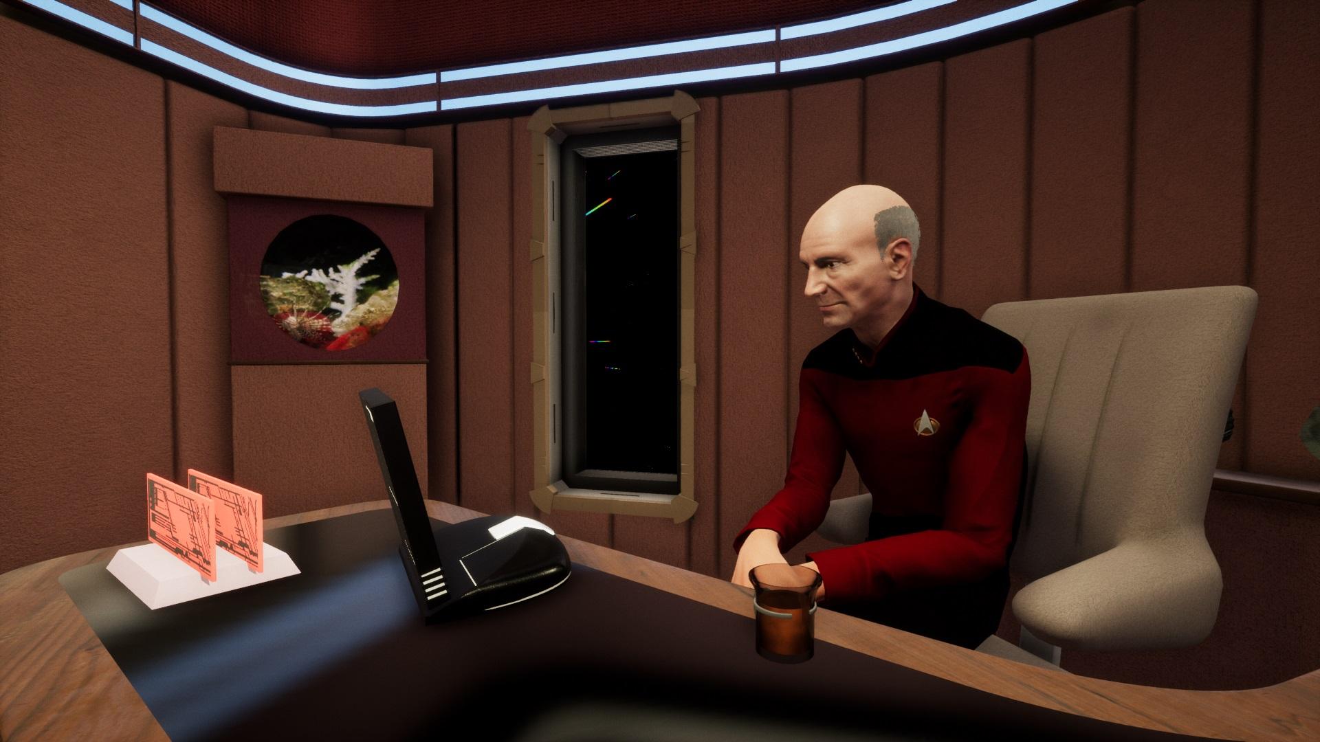 Stage 9 - Star Trek fan game