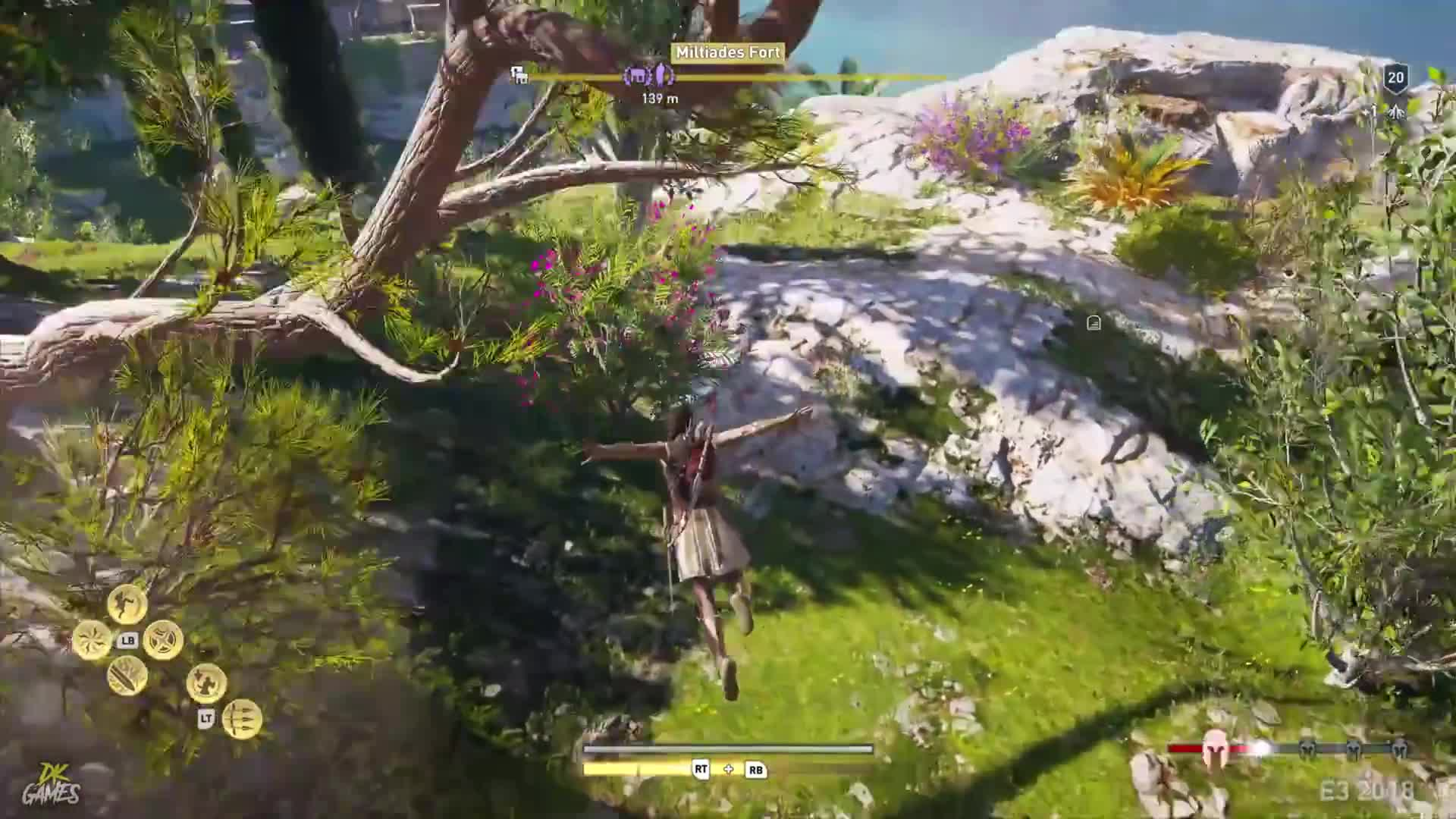 Assassin's Creed Odyssey - Gameplay mix z E3