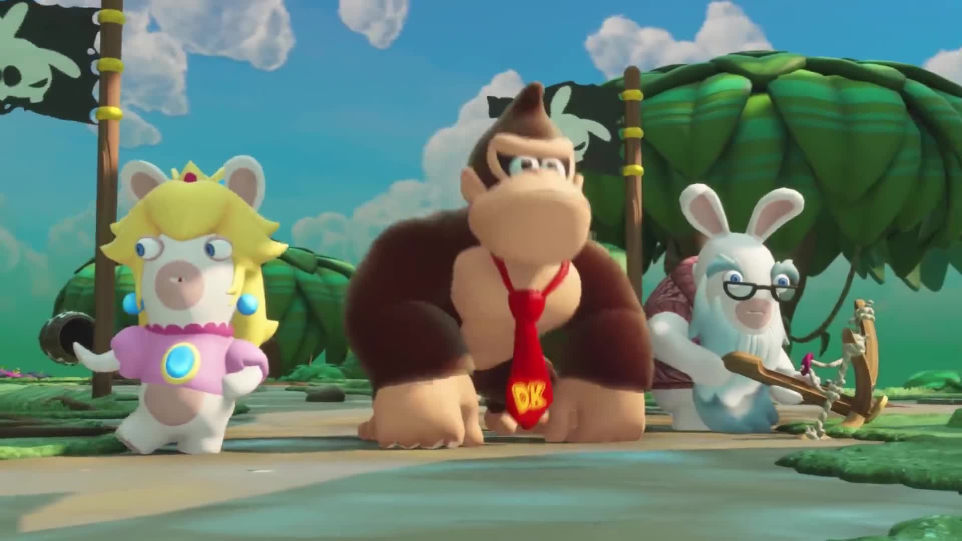Mario + Rabbids Kingdom Battle Donkey Kong Adventure ponúka launch trailer