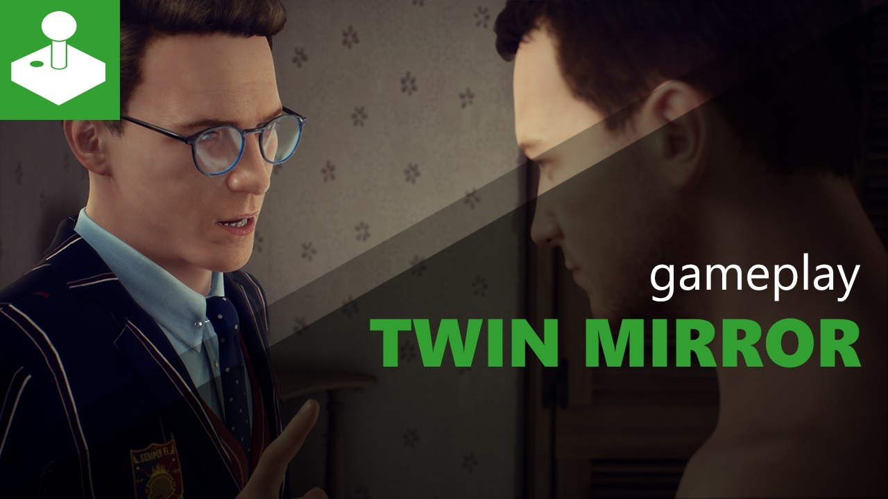 Twin Mirror - Gamescom gameplay