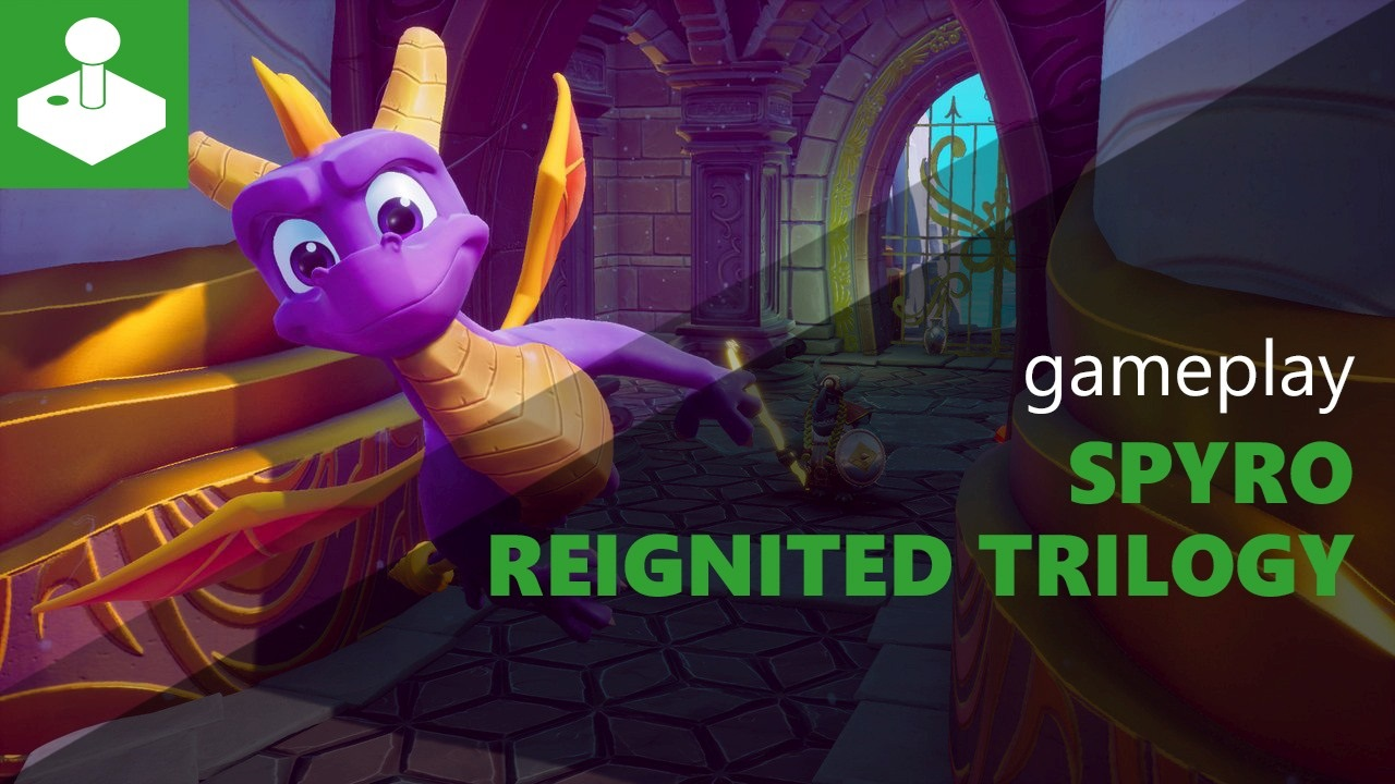 Spyro Reignite Trilogy - gameplay