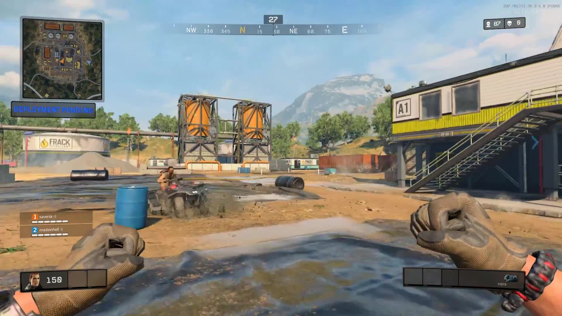 Call of Duty Black Ops 4 - Blackout Beta gameplay