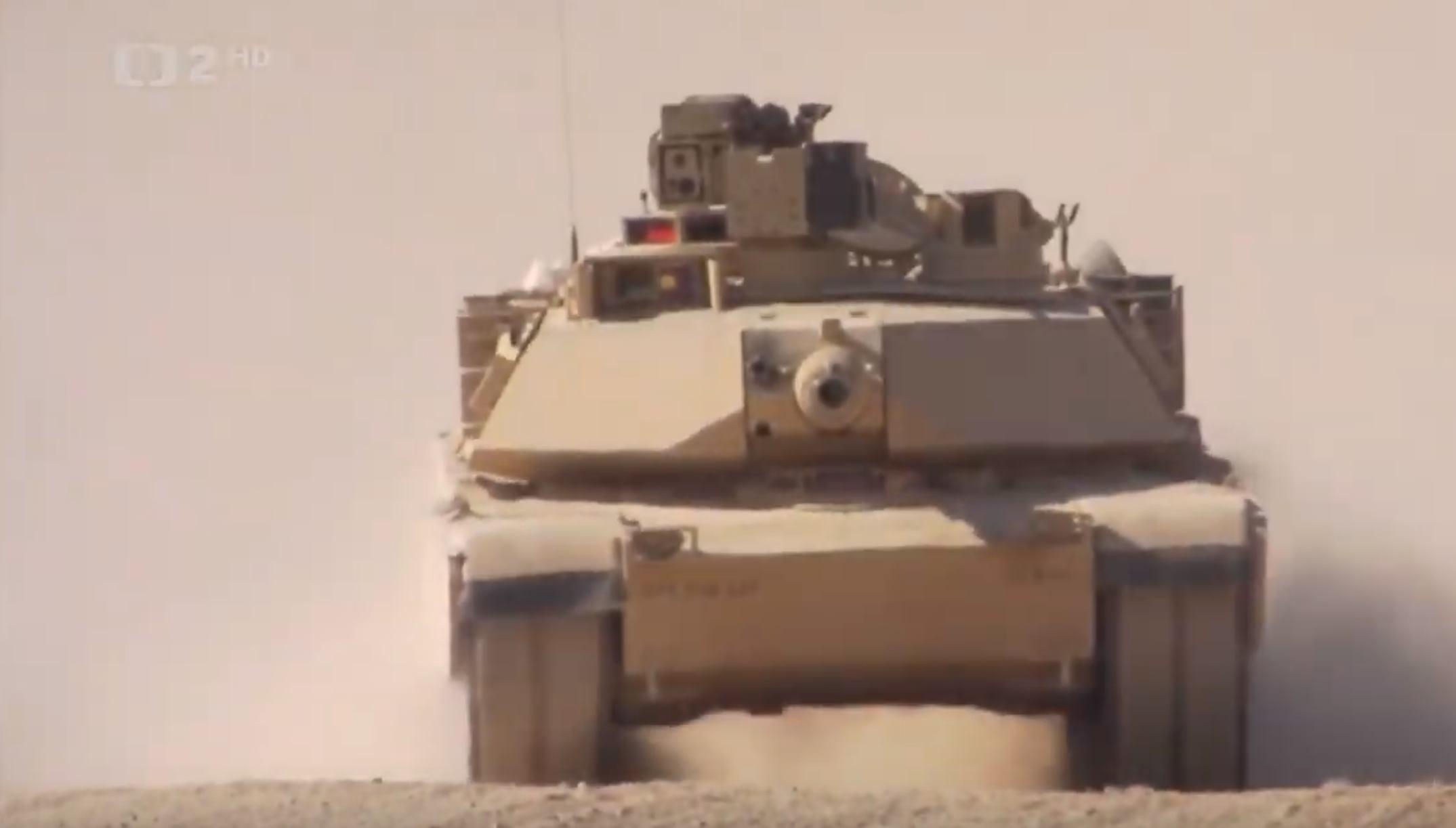 Megatovárne - Tank M1 Abrams