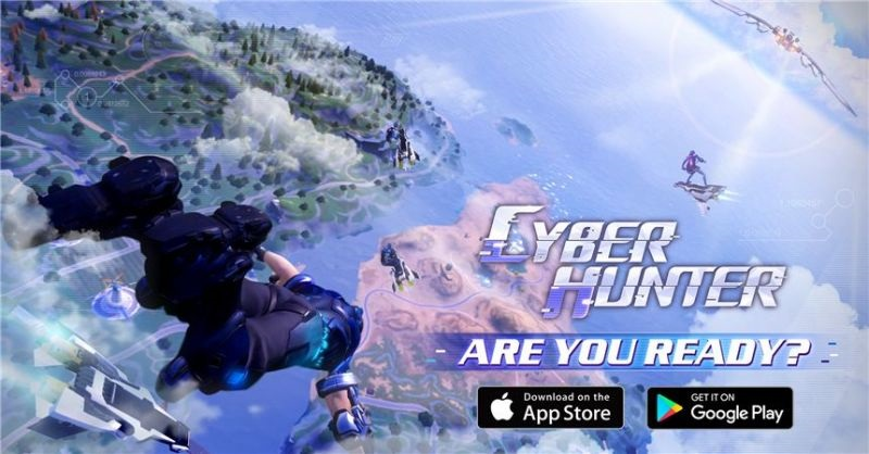 Na mobiloch vyšla nová battle royale hra Cyber Hunter