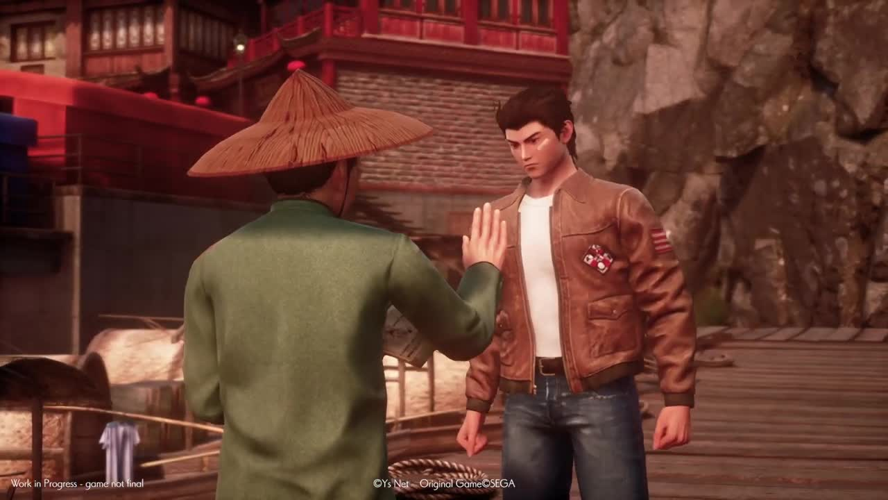 Shenmue 3 ponúkol gameplay trailer
