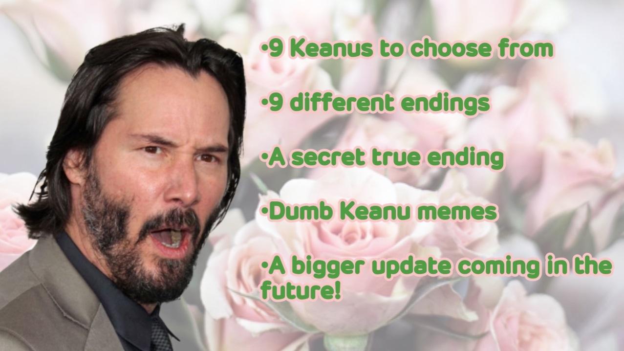 Keanu Dating Sim