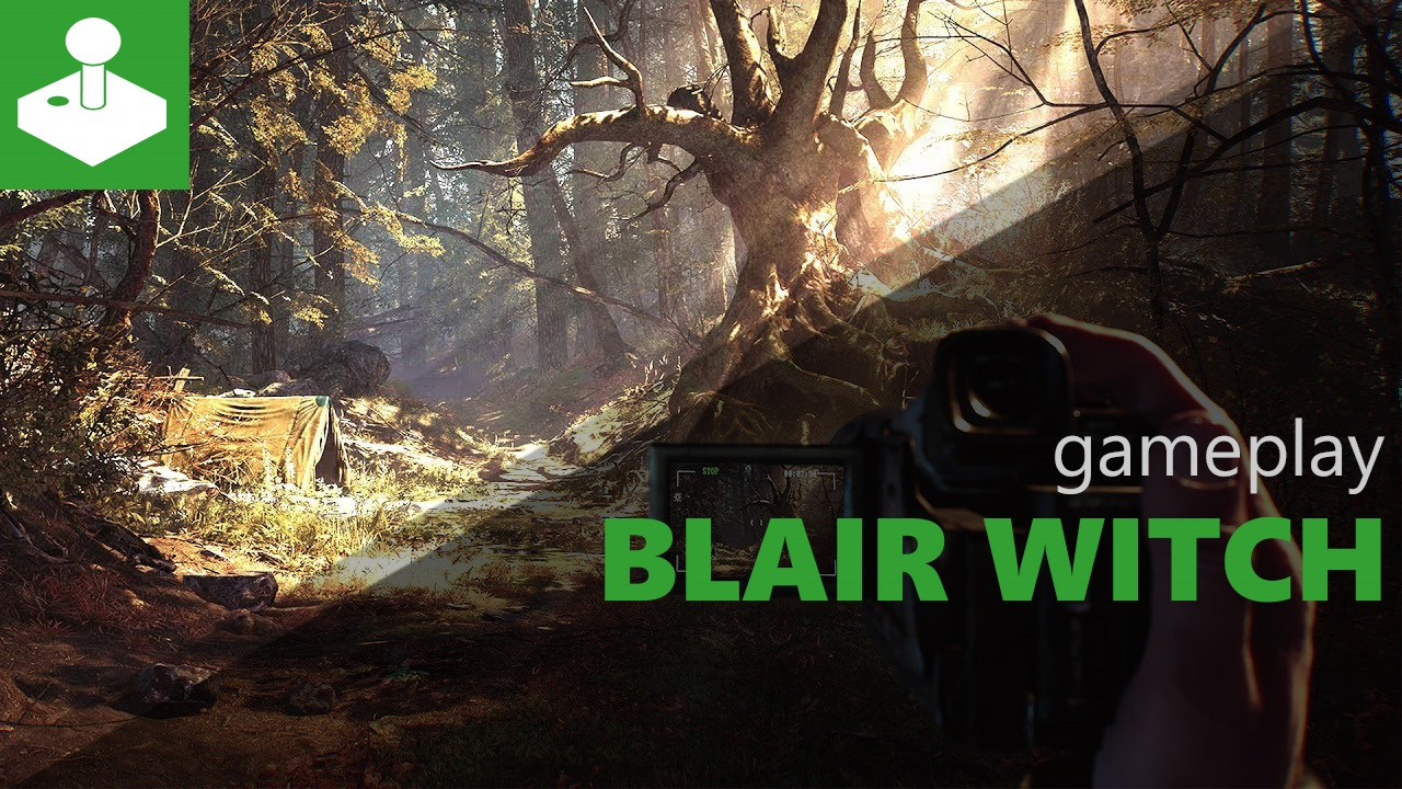 Blair Witch - Gamescom 2019 gameplay