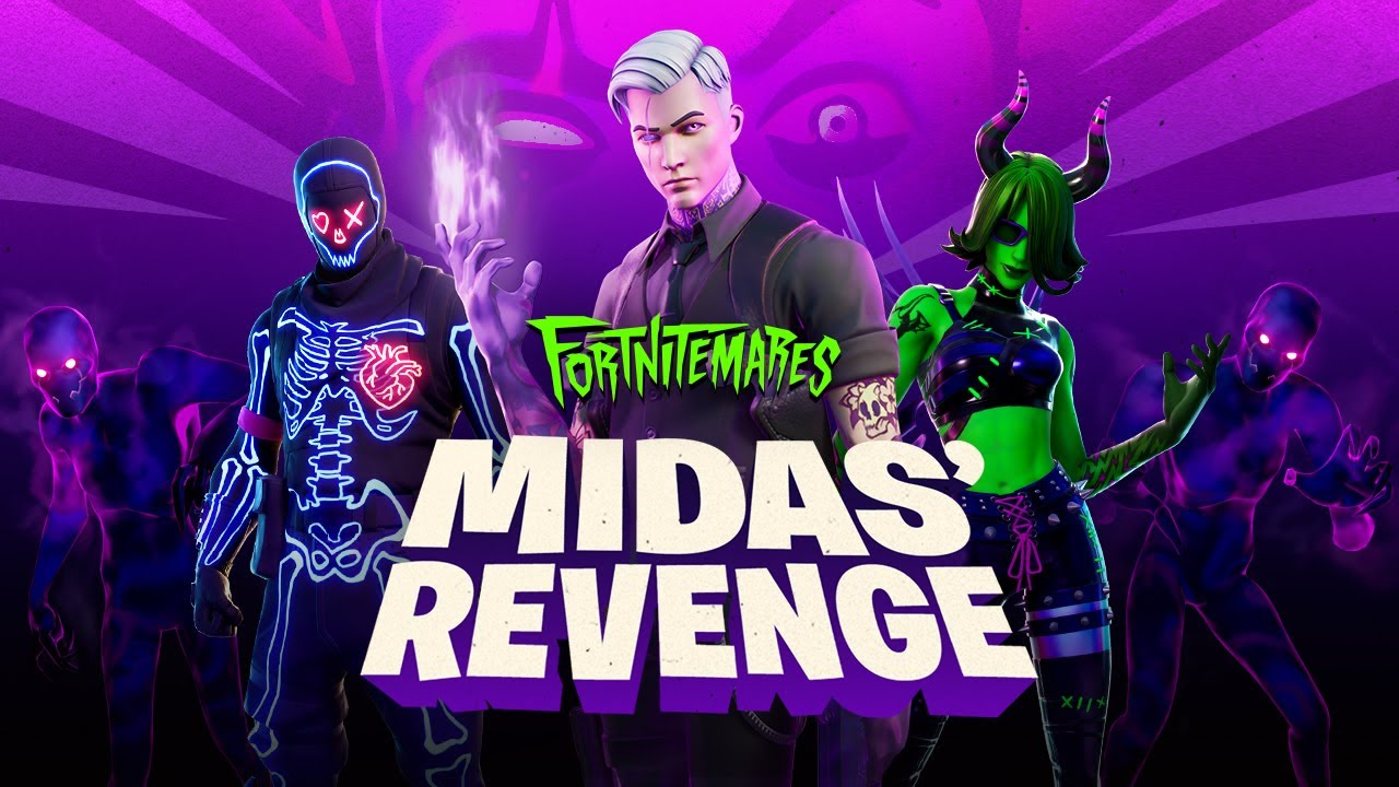 Fortnite pridáva halloweensky event - Midas Revenge