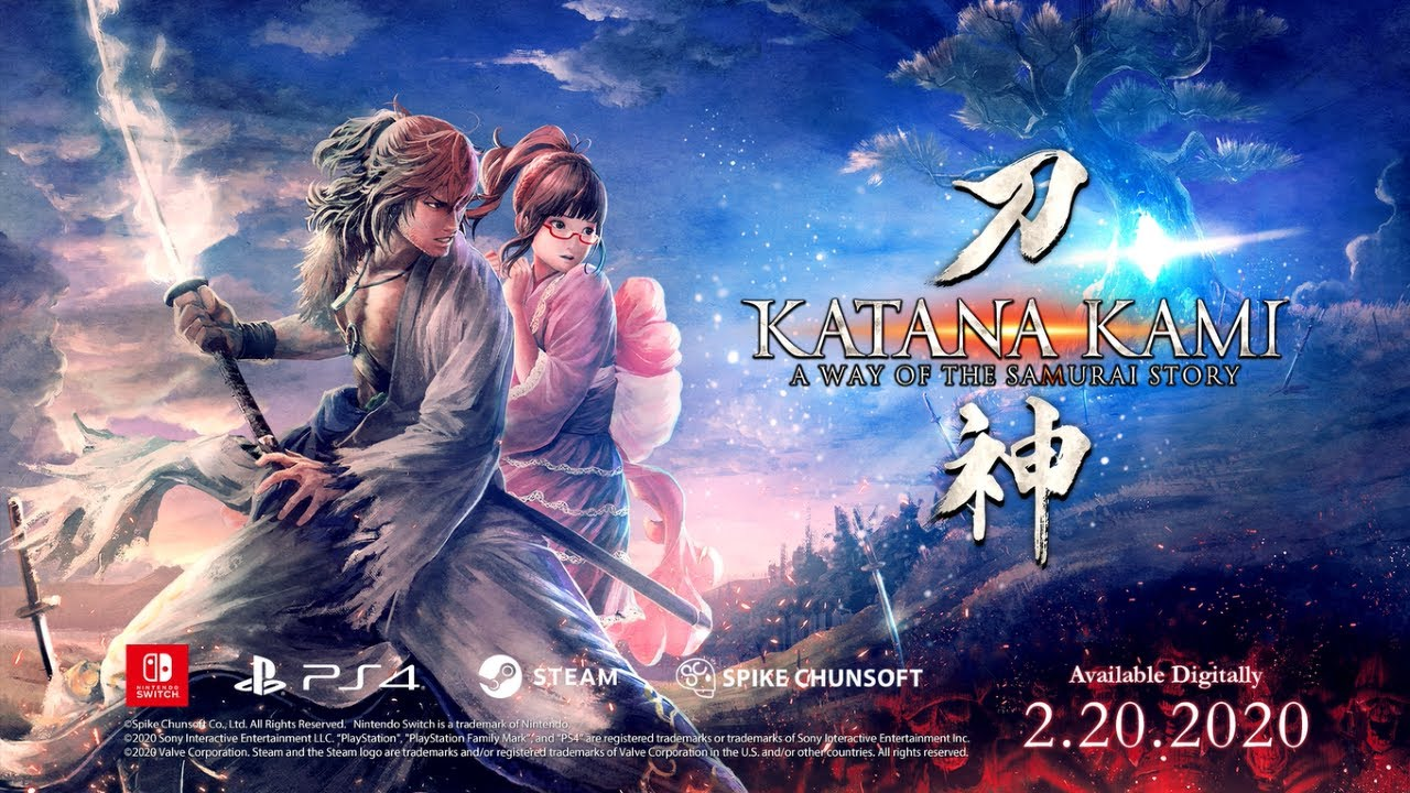 Katana Kami, spin-off  A Way of the Samurai, prichádza