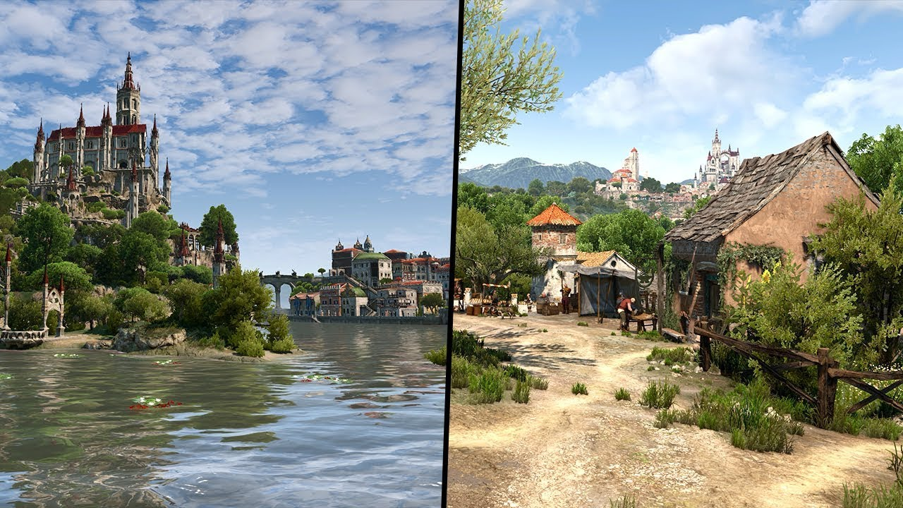 Ukážka Witcher 3 s Verona Lighting modom