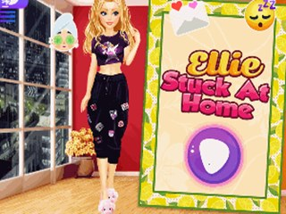 Ellie Stuck at Home