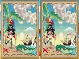 Nájdite rozdiely - piráti