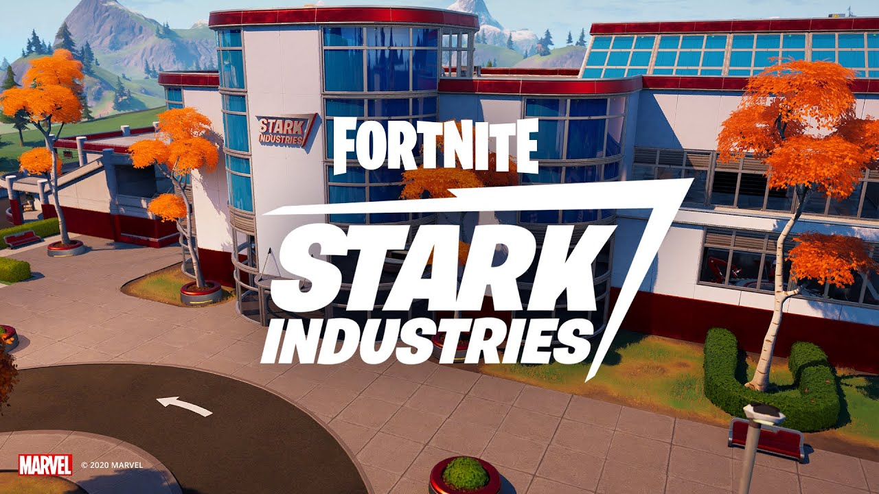 Do Fortnite pribudla budova Stark Industries