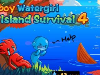 Fireboy Watergirl - Island survival