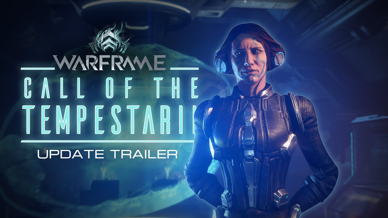 Warframe dostáva update Call of the Tempestarii