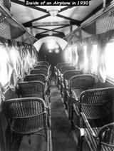 V lietadle v roku 1930