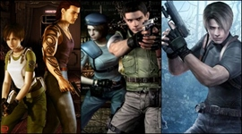 Resident Evil 0, 1 a 4 pre Switch
